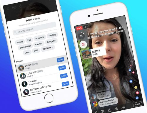 MUSIK & FACEBOOK: LIP SYNC LIVE UND NEUE MUSIC SHARING FEATURES
